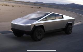 Tesla unveils Cybertruck!