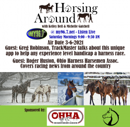 Welcome to Horsing Around 3-6-21