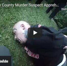 Video: Morrow Co. Murder Suspect Apprehension