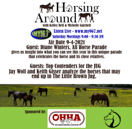 Horsing Around 9-4-2021